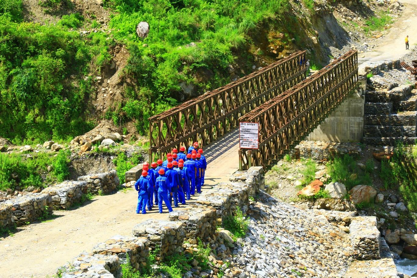 Dokumentation über chinesisches Wasserkraftwerk